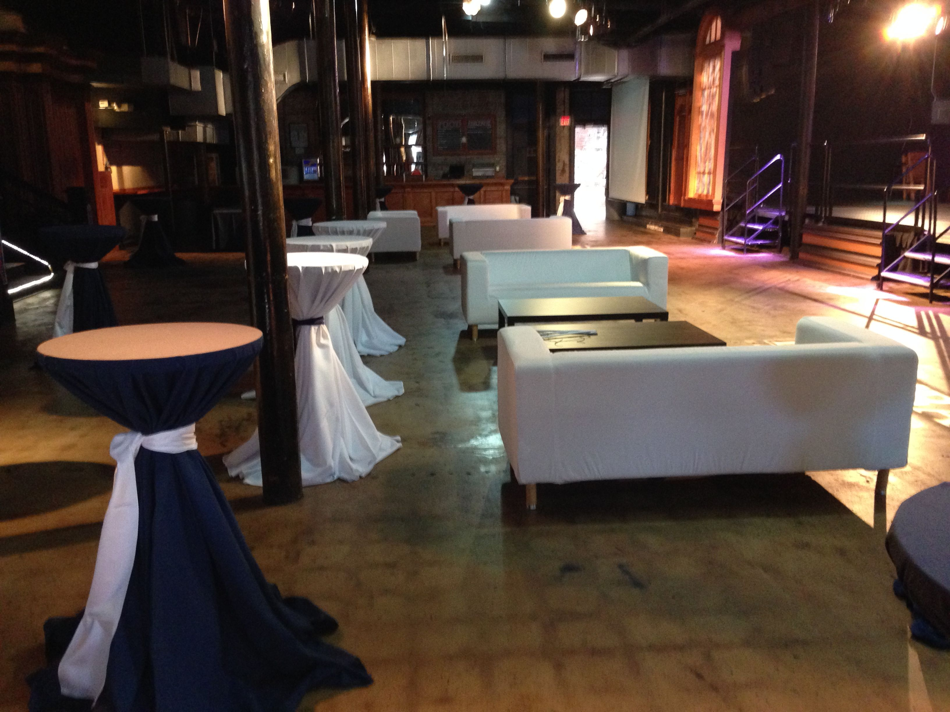 Atlanta Rental Vip Lounge Furniture Equipment Couch Cocktail Table After Party Linens Release Table Linen Rentals Rental Furniture Party Furniture