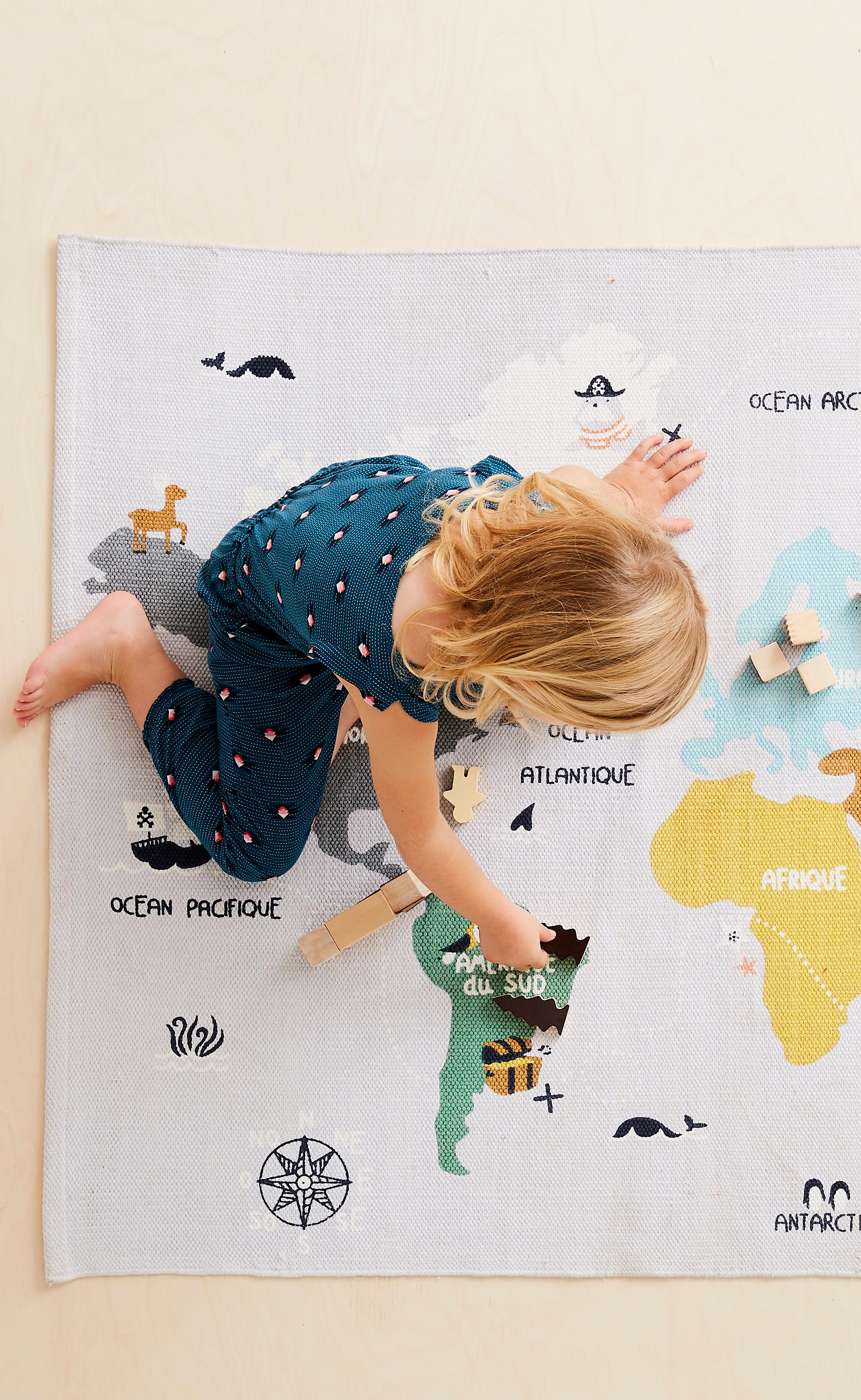 tapis carte du pirate tapis de carte tapis enfant tapis jeu enfant