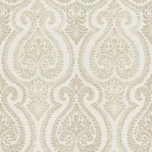 The Wallpaper Company 56 sq. ft. Ambiance Ogee Wallpaper