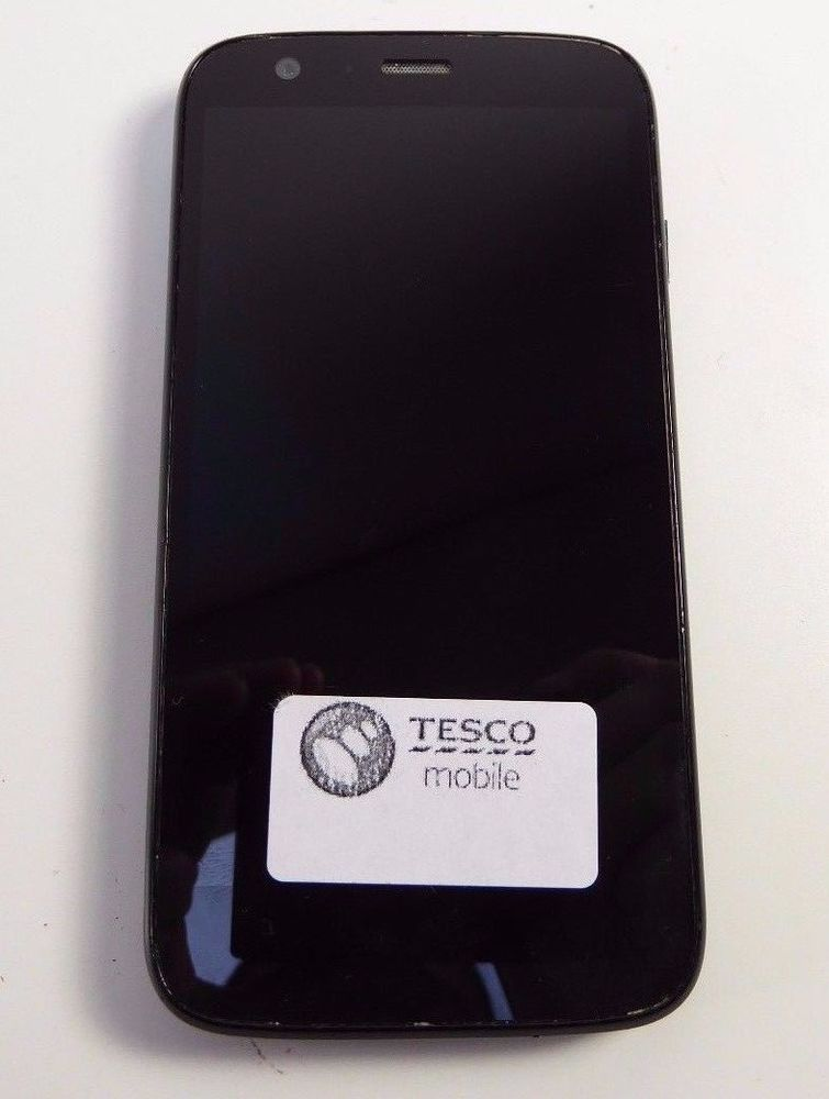 Motorola MOTO G  8GB  Black Smartphone **LOCKED TO TESCO** 0903649  #Motorola
