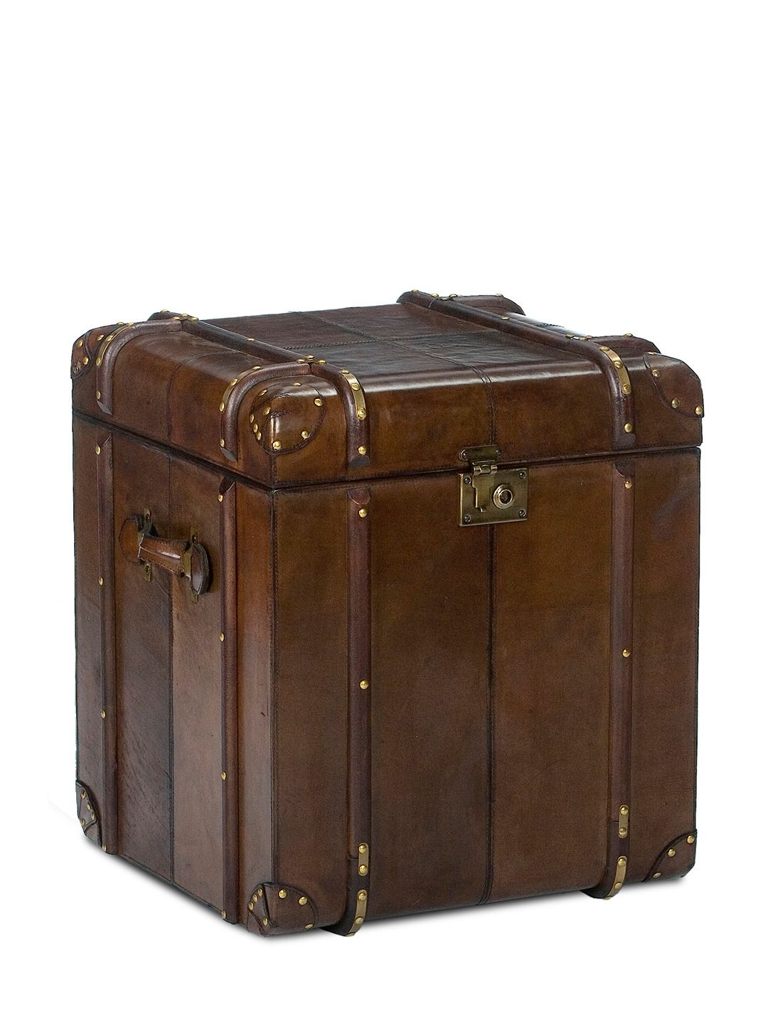 Leather Trunk Side Table By Sarreid At Gilt 3 I Like
