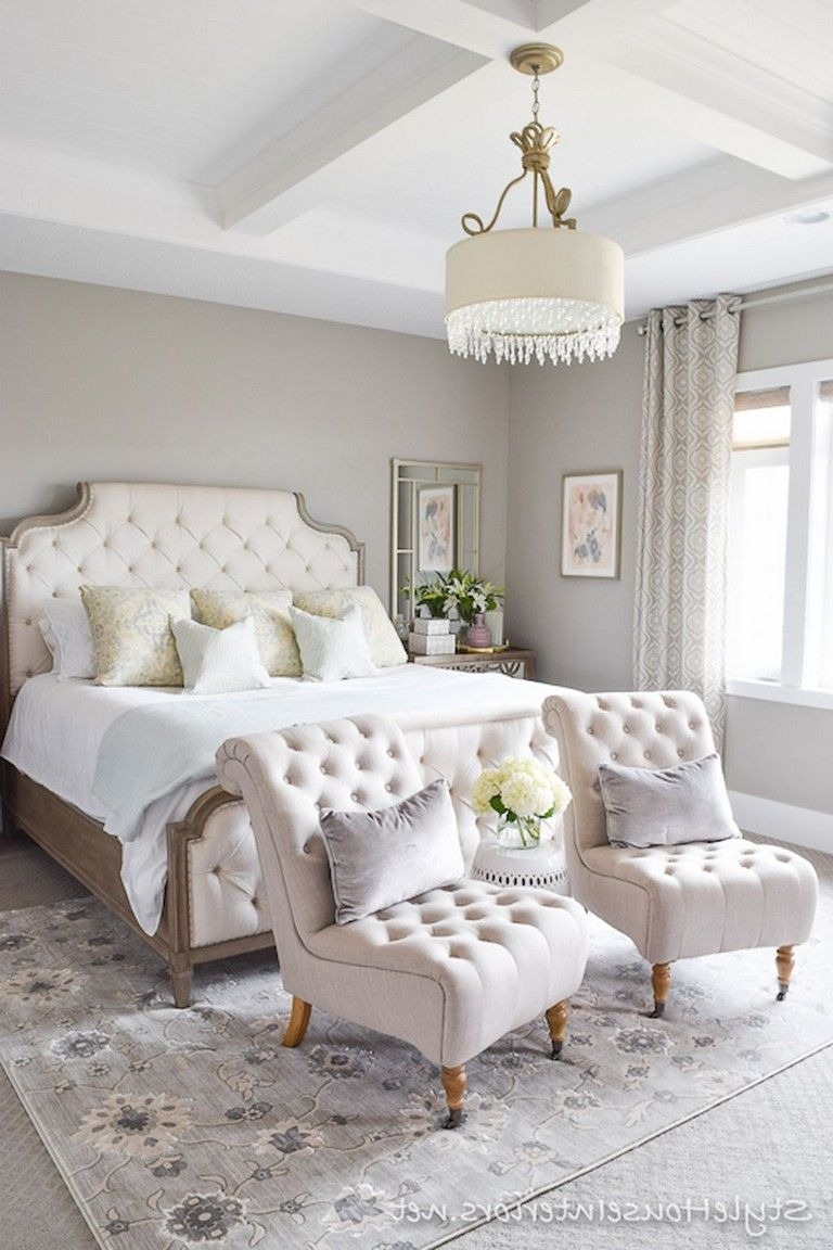 Small Romantic Master Bedroom Ideas: 55 Handsome Farmhouse Master Bedroom Decorating Ideas