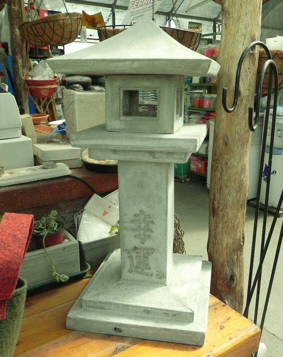 Lampara japonesa linternas japonesas japon jardines y for Decoracion jardin japones