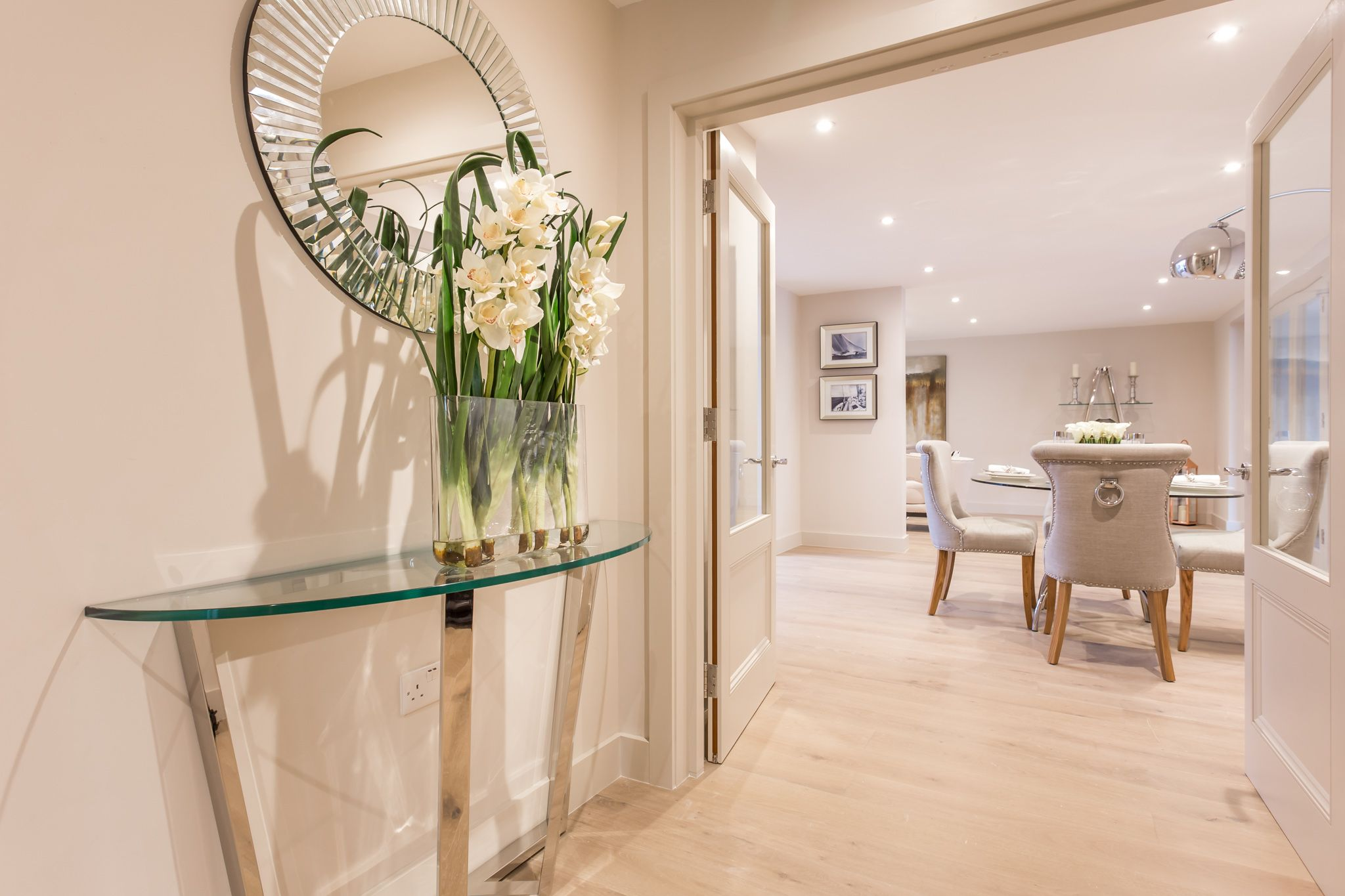 Entrance Hall Styled By Smb Interior Design Bournemouth