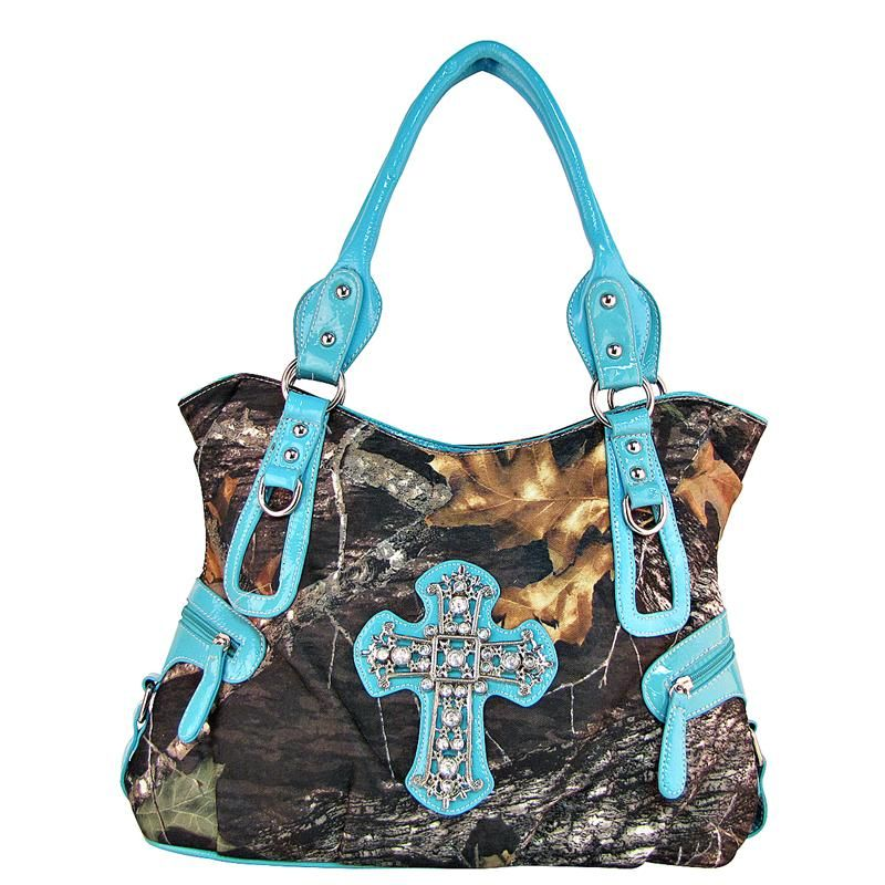 Country Western Purses with Crosses | Cross Purses with Bling