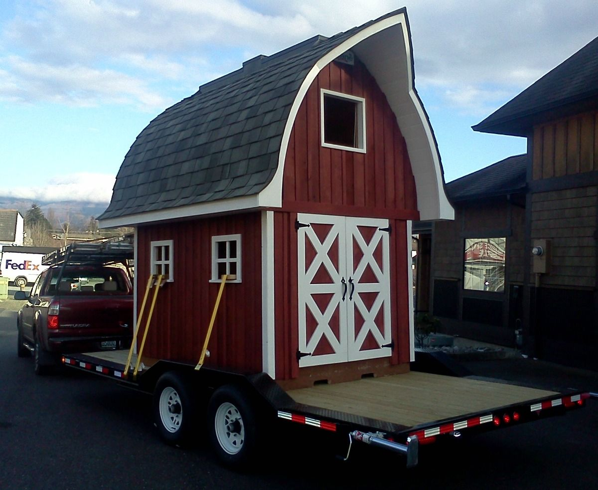 The Little Red Barn Playhouse Will Be Raffled At The SICBA Home U0026 Garden  Show Drawing