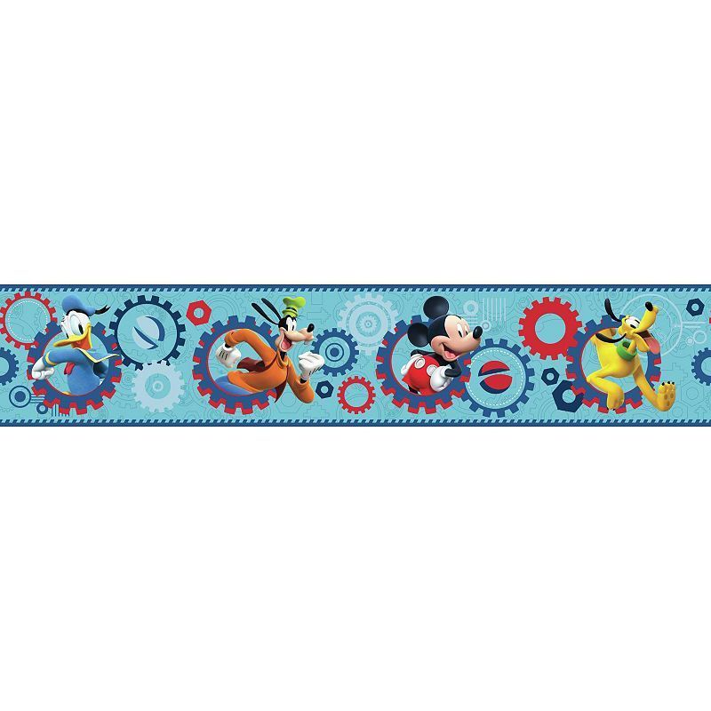 Disney's Mickey Mouse Clubhouse Wall Border Walt disney