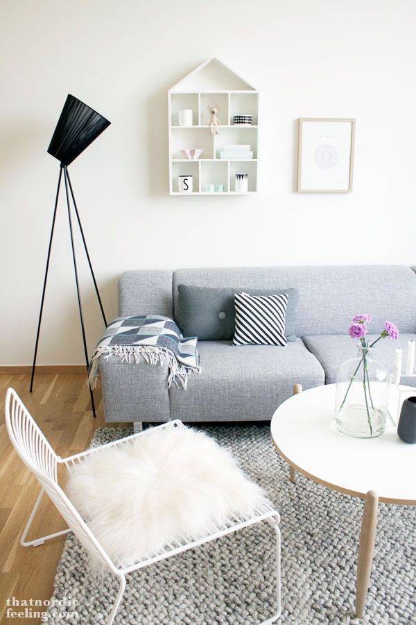 Via That Nordic Feeling Grey White Hay Hee Chair Living Roomscontemporary