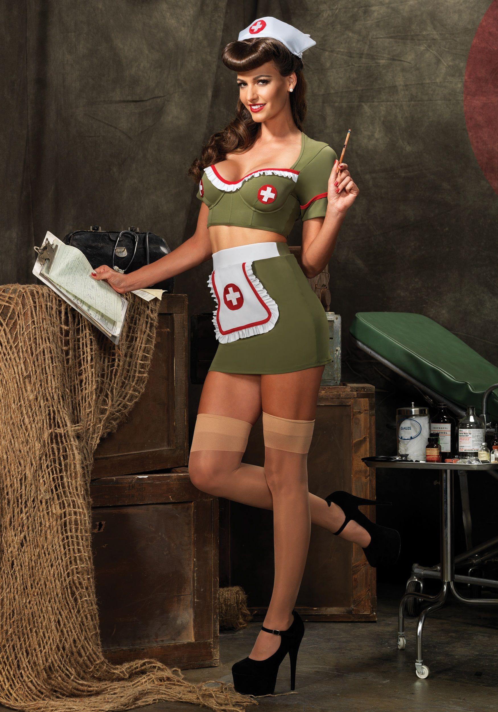 The army nurse porn