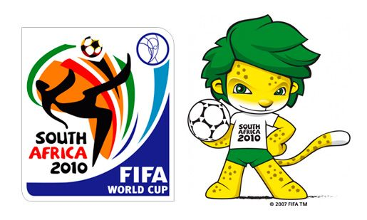 Zakumi South Africa 2010 World Cup Mascot Logo Soccer Is The