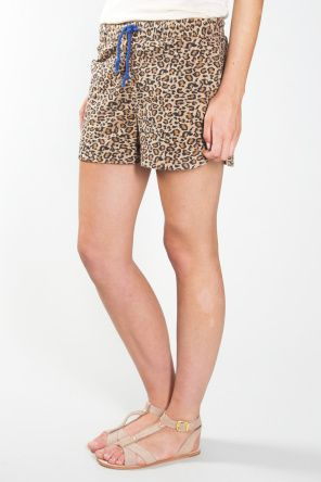 Shop for Shorts at Incu \ Lake Athletic Shorts in Animal print by Vanishing Elephant \ Incu