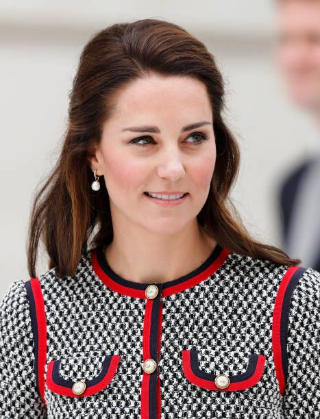 Catherine Duchess of Cambridge visits the new VA Exhibition Road Quarter at the Victoria Albert Museum on June 29 2017 in London England The VA...