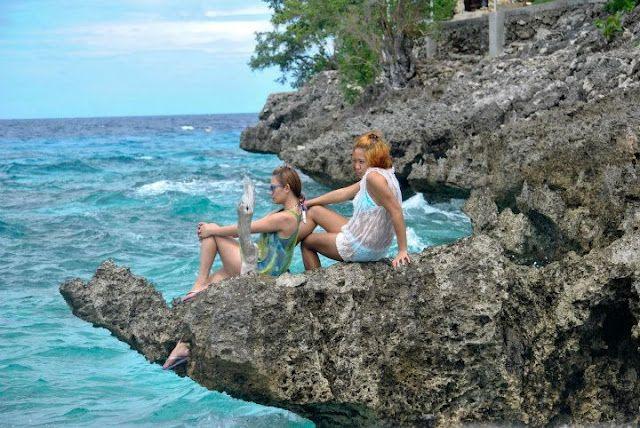 scenery in Sumilon Island, Philippines