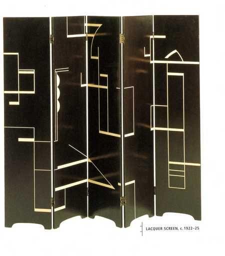 laquer screen - eileen gray art deco my fav!! | my style, Innenarchitektur ideen