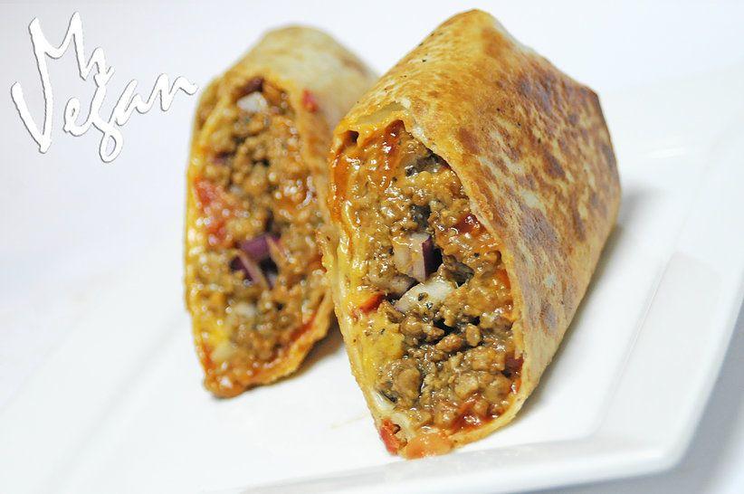 Ms Vegan | Hamburger Burrito