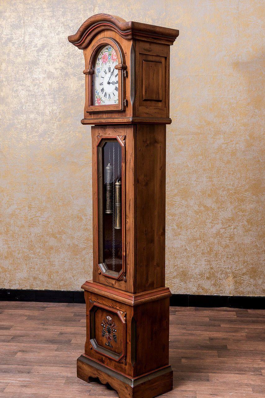 Anno 1700 Braun Antik Standuhr Alpenland Möbel Standuhren Holzuhr Uhr