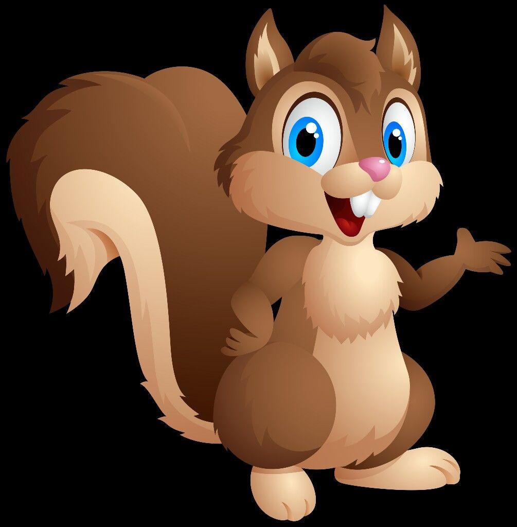 Squirrel Clipart Kostenlos Niedliche Eichhornchen Zeichentrickfilme