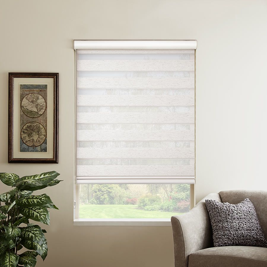 Essential Zebra Light Filtering Dual Roller Shades Selectblinds