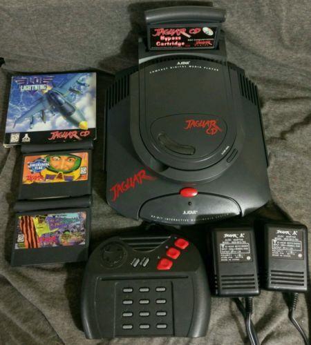 Atari Jaguar System & Jaguar CD Unit Bundle w/CD Bypass & Games TESTED https://t.co/pWIuDGYNCX https://t.co/P5jXlNVQqG