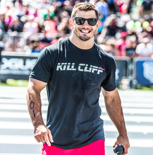 Kill Cliff Athlete Mathew Fraser Sporting The Men S Classic Shirt 24 Crossfit Men Crossfit Crossfit Workouts