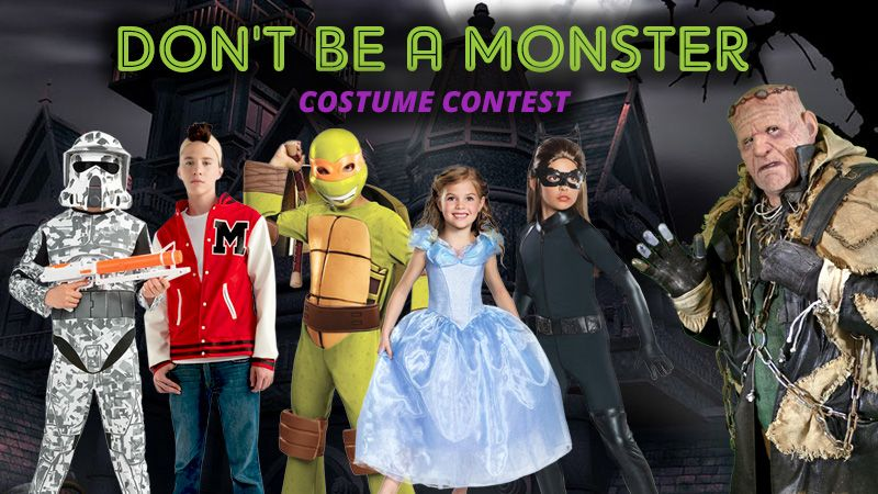 Trendy Halloween has teamed up with Don't Be A Monster to stop the bullying. Raise awareness and enter our Halloween costume contest. Click here for full details http://on.fb.me/1XnjLhz