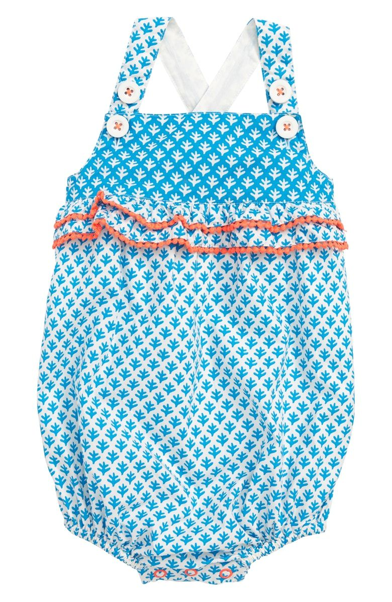 5bdb4a9631d Free shipping and returns on Mini Boden Hotchpotch Bubble Romper (Baby Girls)  at Nordstrom