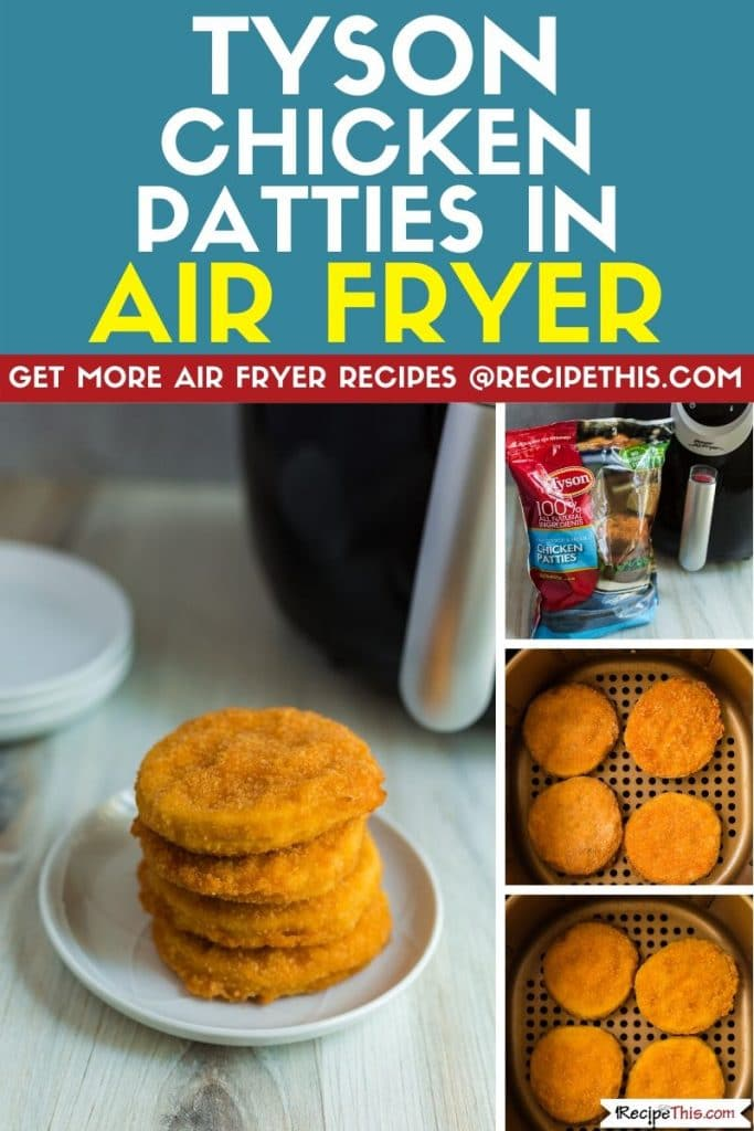 Tyson Chicken Patties In Air Fryer Recipe This Receita