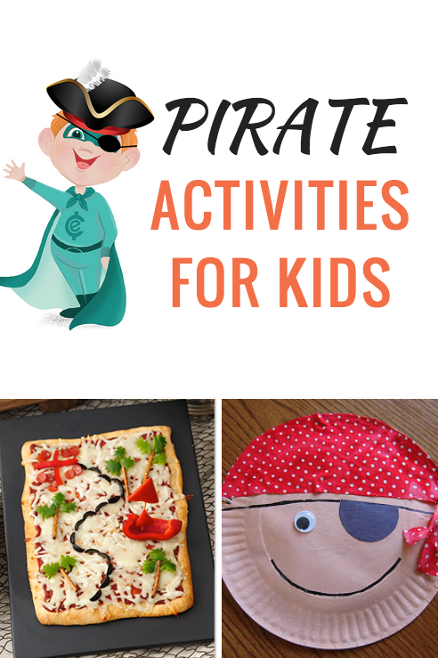 10 Pirate Activities for Kids on Talk Like a Pirate Day