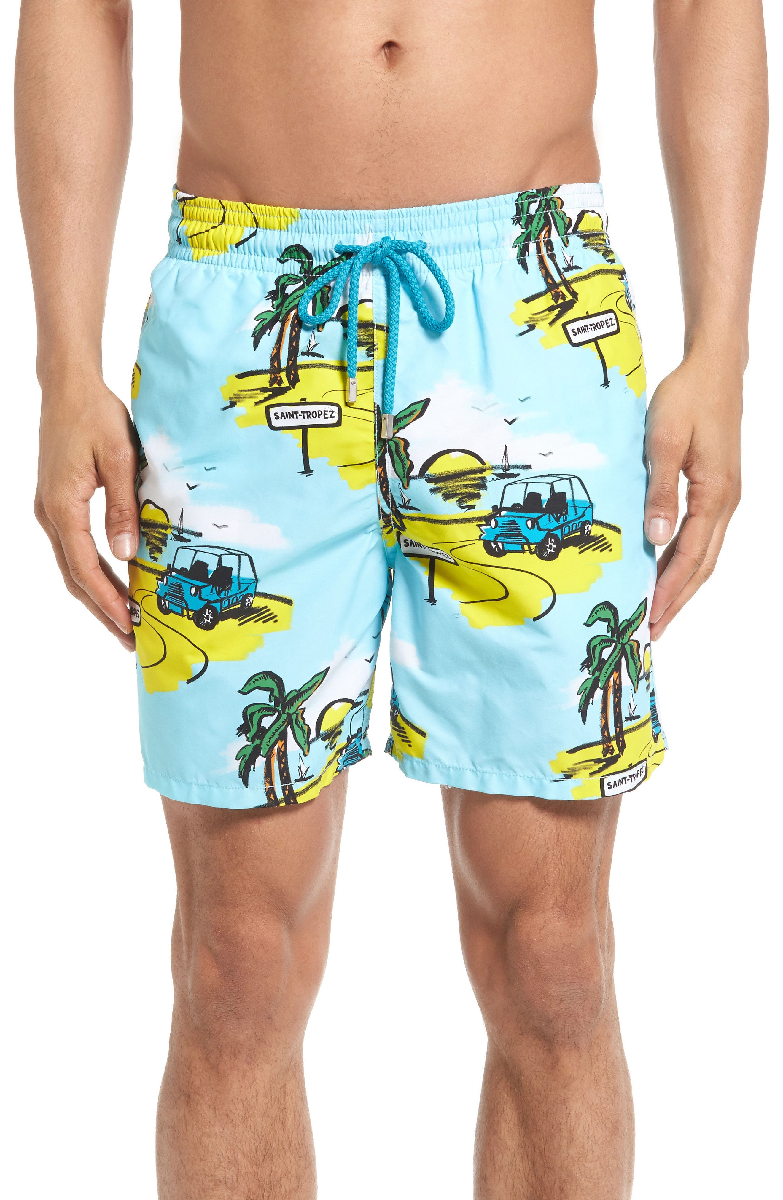 d485dda9bc New Vilebrequin Moorea Mini Moke Print Swim Trunks ,FROSTED BLUE fashion  online. [$250]newtstyle top<<