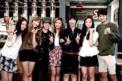 To The Beautiful You - Choi Jinri, Kim Jiwon & Choi Minho with f(x