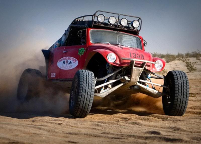 420hp And 21 Inches Of Travel In The Front Suspension 1963 Vw Baja