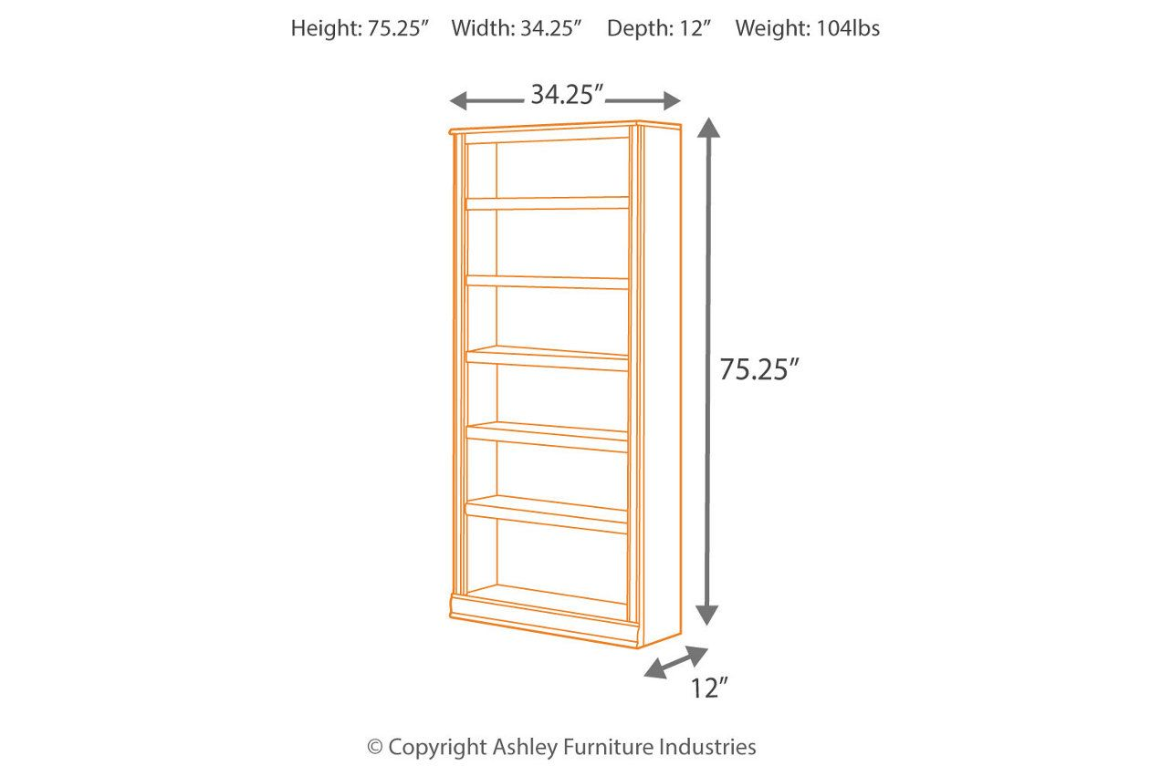 Hamlyn 75 Quot Bookcase With Images Bookcase Adjustable Shelving Furniture Homestore