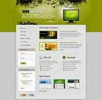 Website templates sample | bizzy business red.