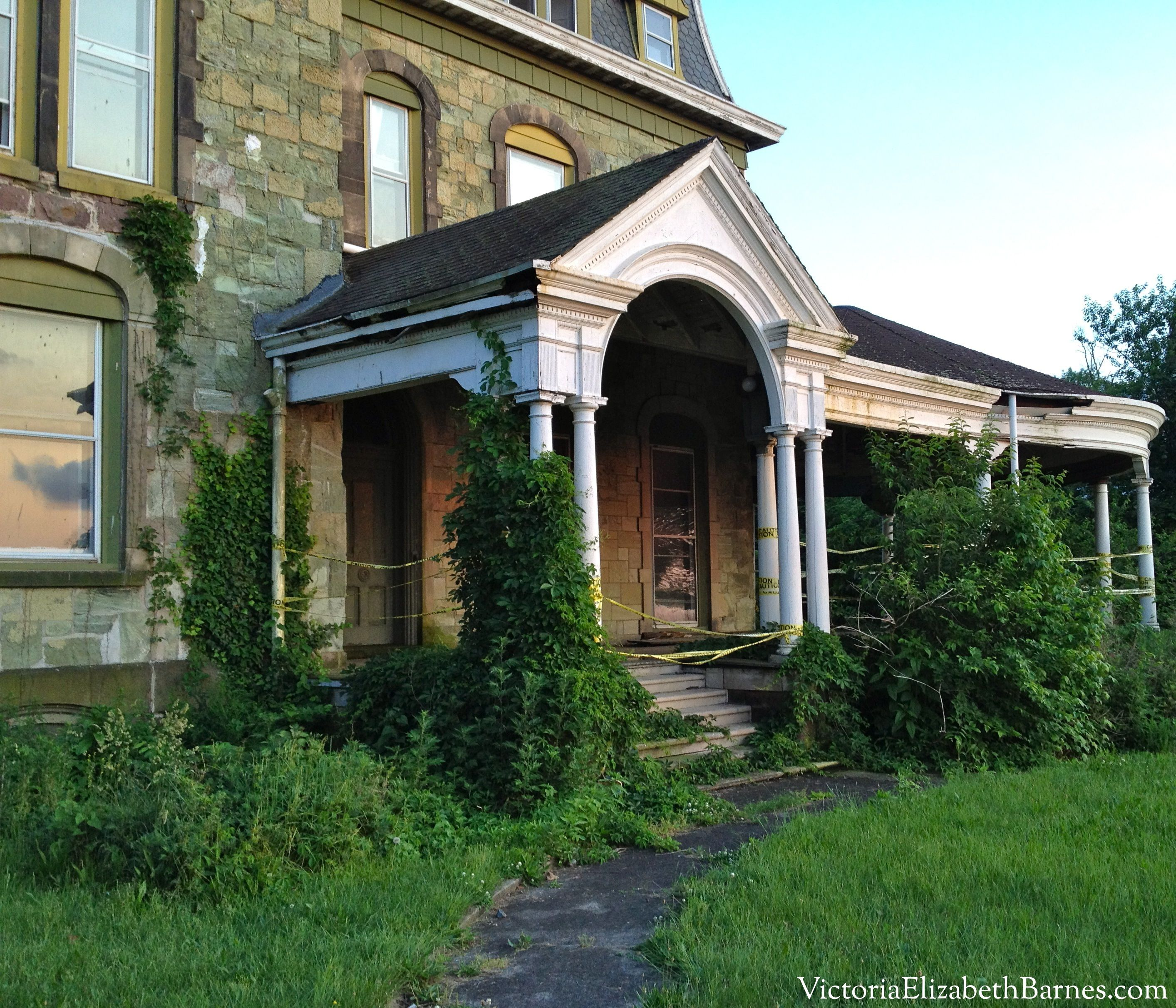 Biddle Mansion- Before Pictures. Riverton NJ Historic