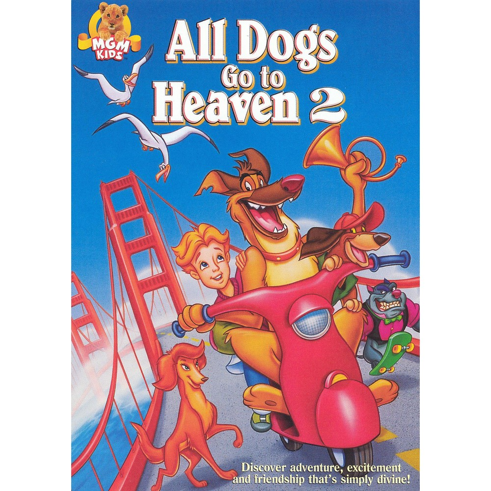 All Dogs Go To Heaven 2 Dvd Heaven Dog Heaven Dogs