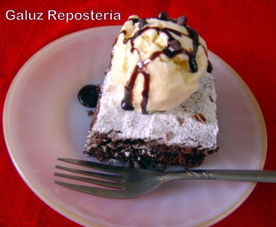 Y si estás estresado? Qué mejor que un Brownie con helado!