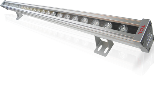 DHA-Lighting TCL India: LED Wall Washers  Features:  Energy saving, high efficiency, easy to install, stable performance and long life; LED is kind of point light source but it can be designed in form of point, linear and planar light source to provide different light pattern to fulfil customers' needs.