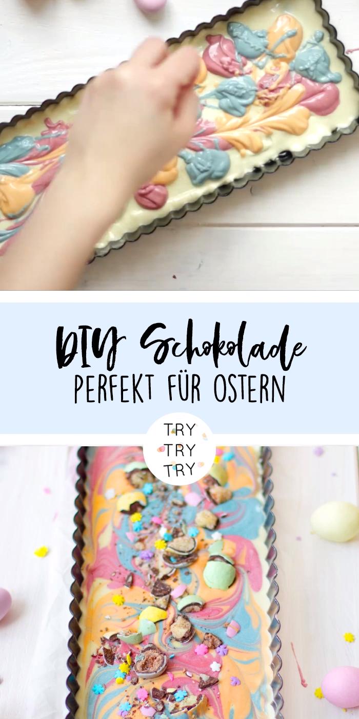 Selbstgemachte Oster-Schokolade als Geschenkidee – Rezepte