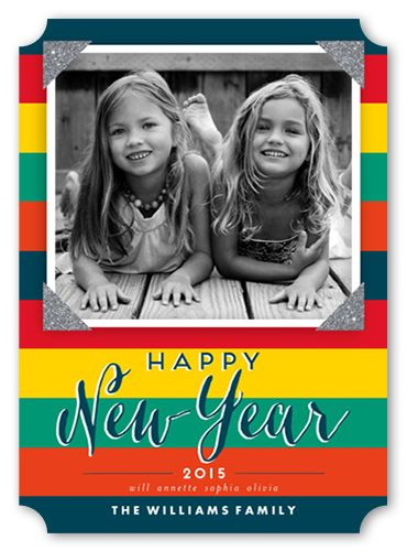 All Stripes 5x7 Greeting Card New Years Cards Shutterfly