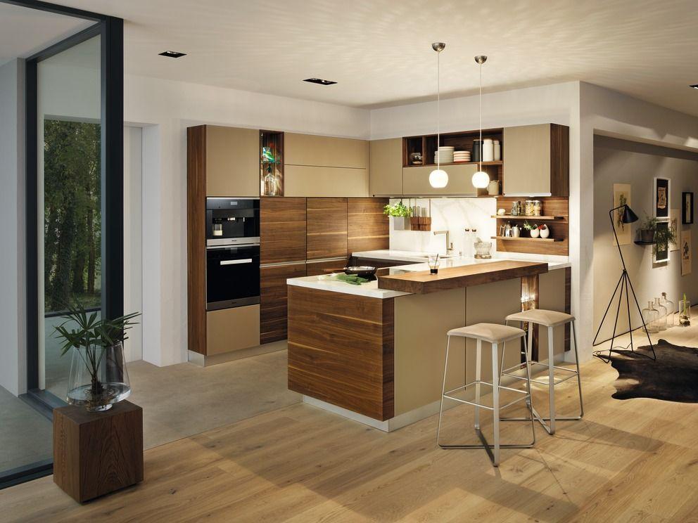 Küche naturholz und glas team7