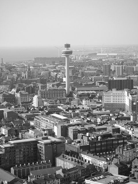 Liverpool Note The Radio City Tower Liverpool Town Liverpool City Liverpool Home