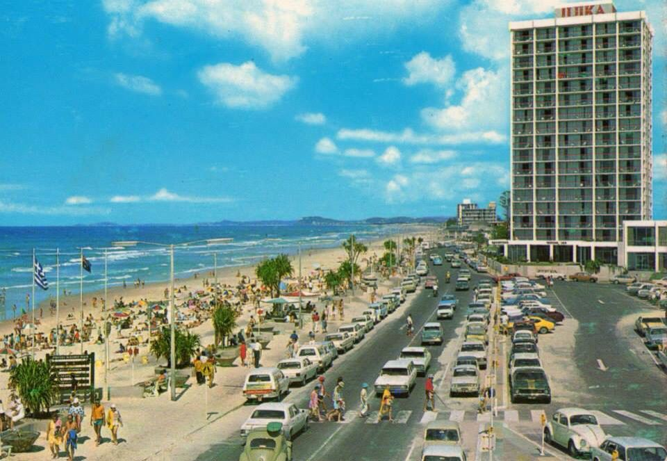 Surfers Paradise 1970s Surfers Paradise Gold Coast Queensland Gold Coast