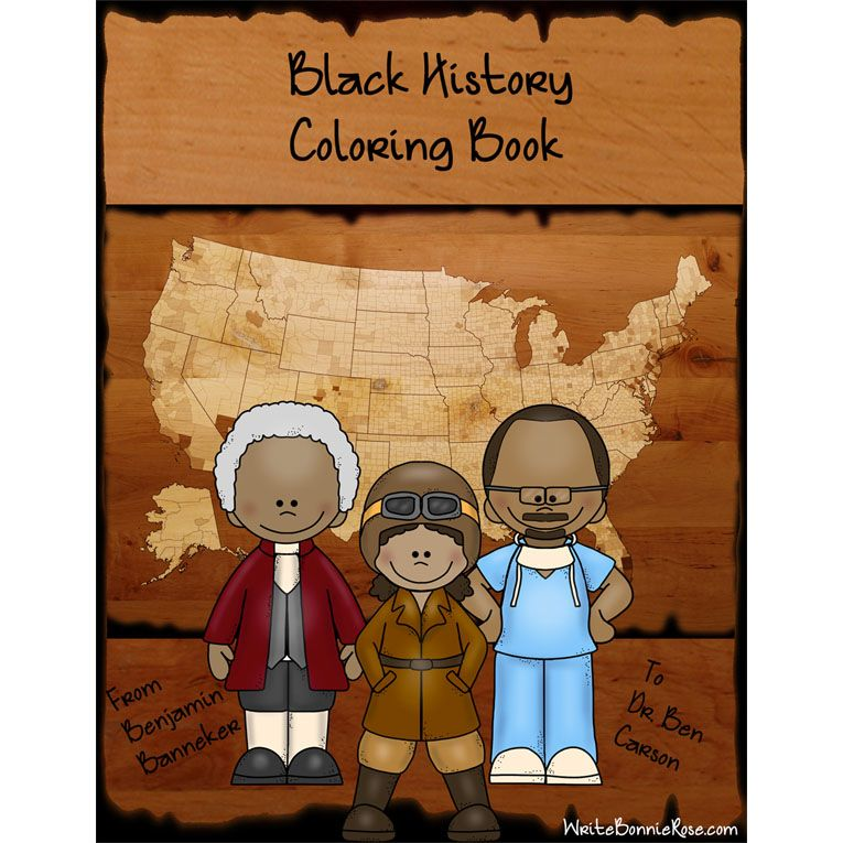 Products: Coloring Books | Bessie coleman, Jesse owens and Frederick ...