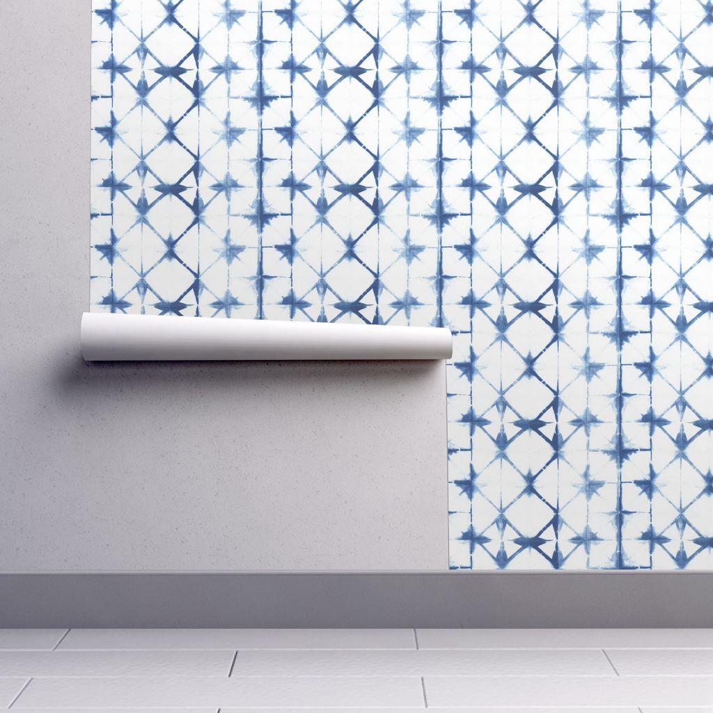 Shibori 13 In 2020 Self Adhesive Wallpaper Spoonflower Wallpaper Shibori