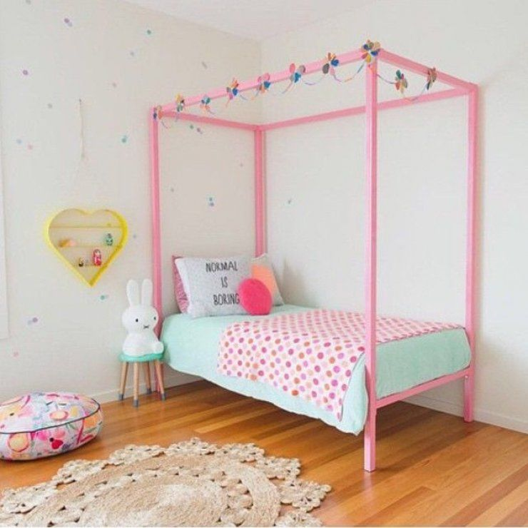 Isn T This Pink Bed Frame Cute 8 Sweet Girl S Room Girl Room