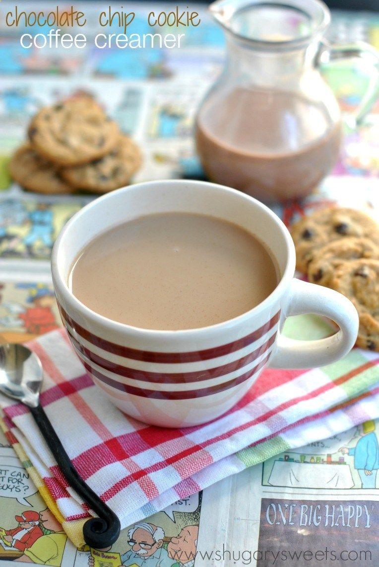 Chocolate Chip Cookie Coffee Creamer - Shugary Sweets