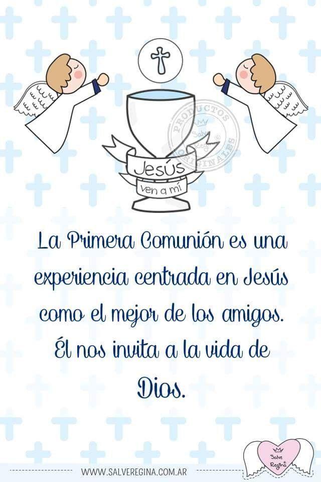 Pin En 1a Eucaristia
