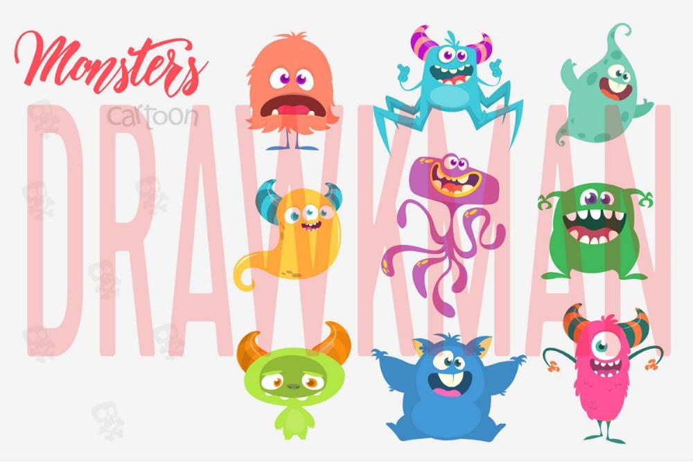 Pin On Cartoon Monsters