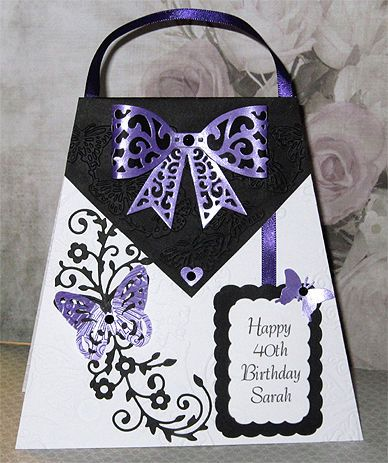 Personalised Handmade 40th Birthday Card 18th 21st 50th 60th Etc In Crafts Cardmaking Scrapbooking Hand Made Cards