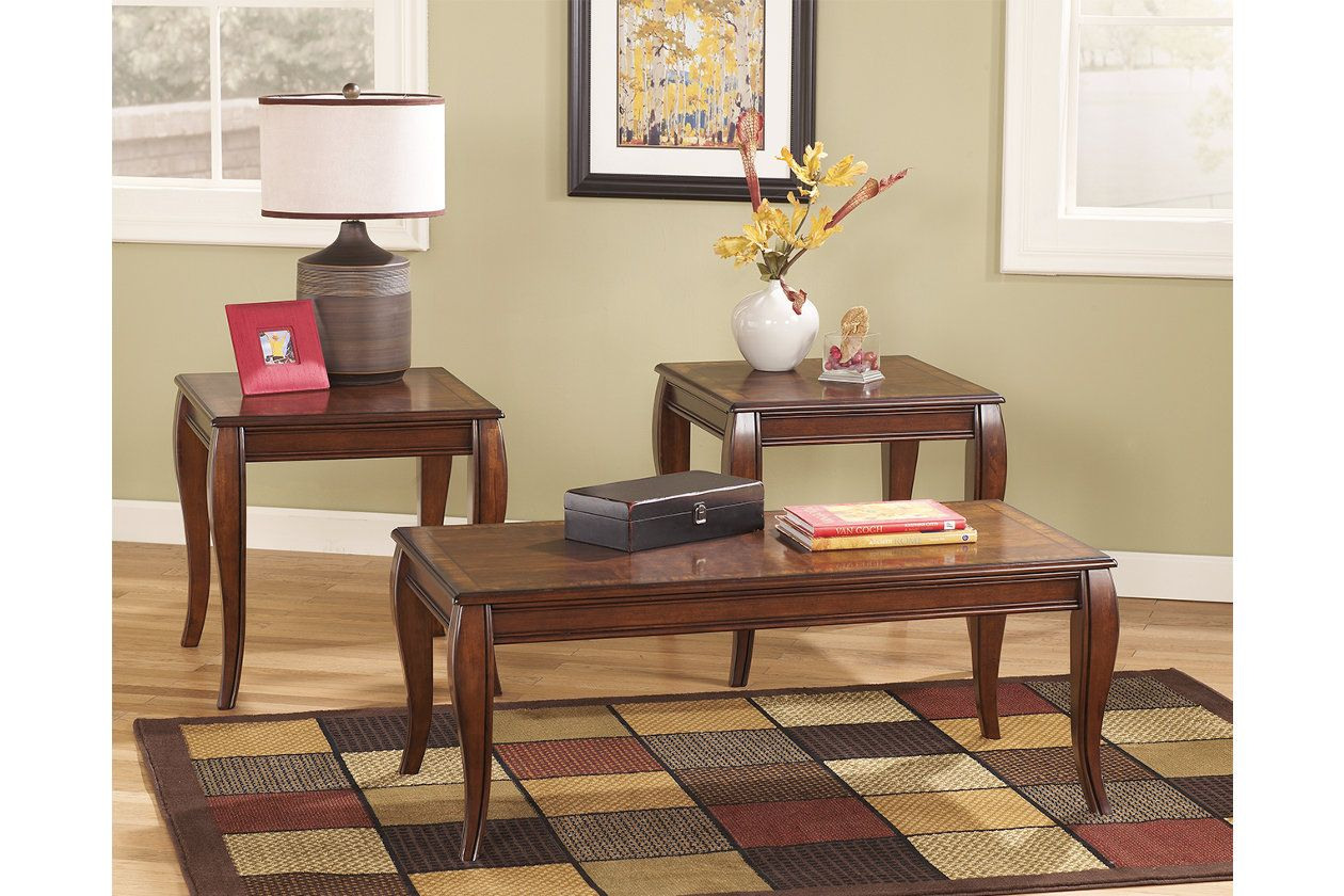 Mattie Table Set Of 3 With Images Ashley Furniture Living Room Living Room Table Sets Living Room Table